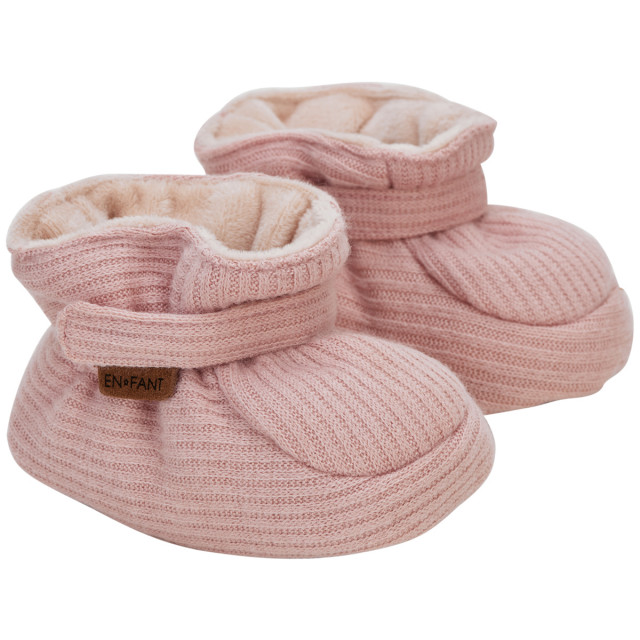 En fant baby slippers bridal rose